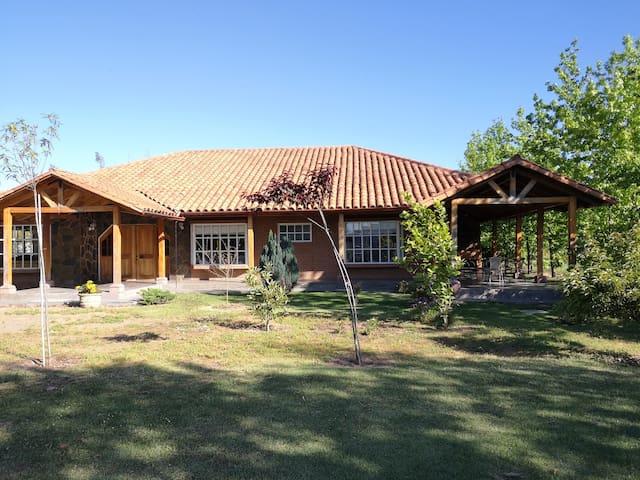 Casa de campo, tranquilidad natural