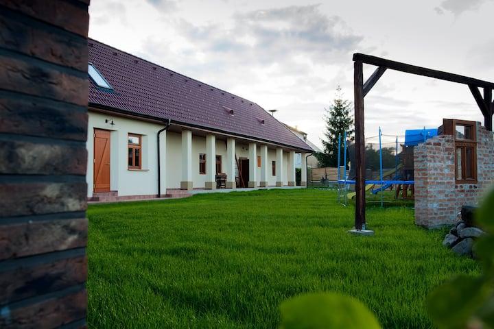 Originálny vidiecky apartmán na Farme Obeckov