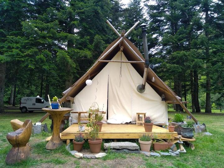 La Tente Prospecteur