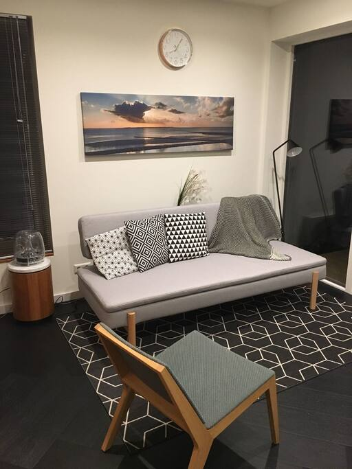 extra sofa bed in living room