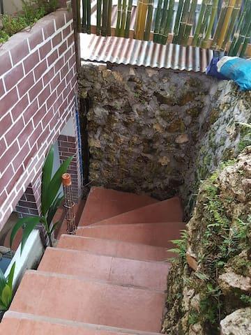 Garden outdoor Stairs