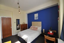 Double Bed, Wardrobe, Long Mirror, Table with Chairs