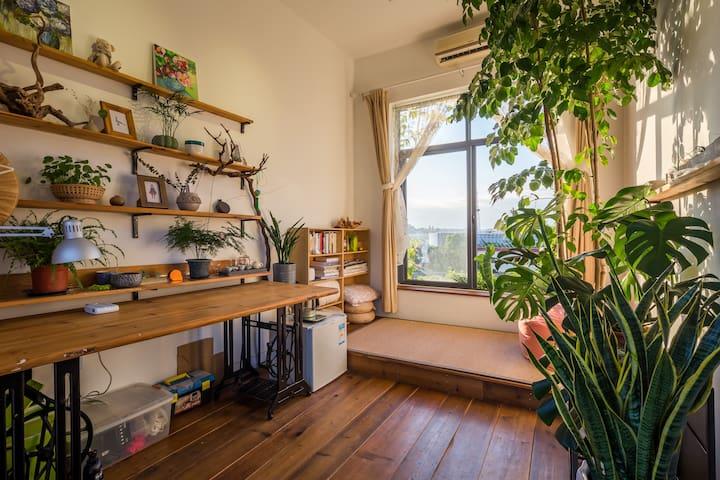沙坡尾 喵司草堂/设计师本人精心打造的工作室 无敌海景 有空调 - Xiamen - Autre