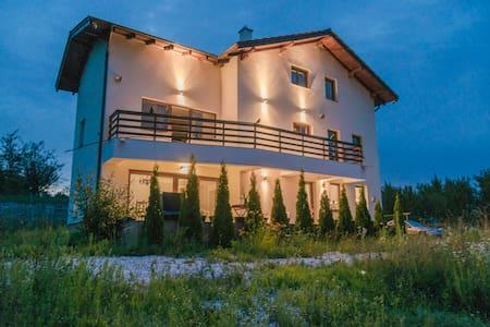 Luxury hillside villa with amazing views