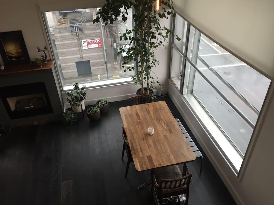 Big corner windows