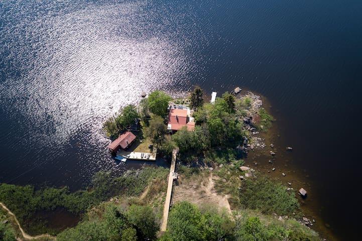 A private island in the Swedish archipelago