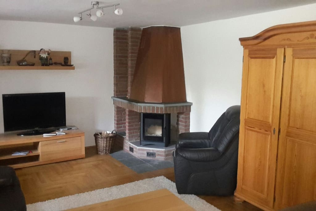 gem tliche wohnung im g nen mit kamin und sauna einliegerwohnungen zur miete in wentorf bei. Black Bedroom Furniture Sets. Home Design Ideas