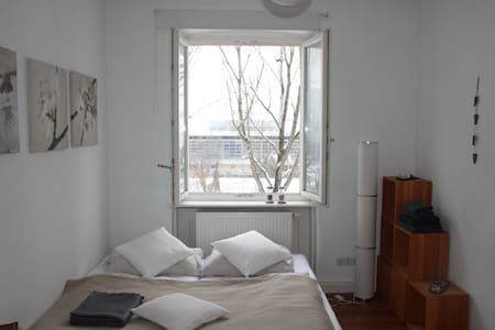 Lovely room (Art Nouveau) with riverview (central) - Bamberg
