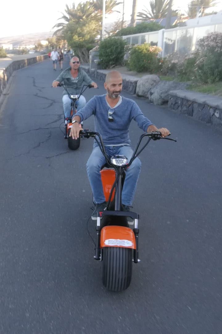 Maspalomas Promenade E- scooter Tour