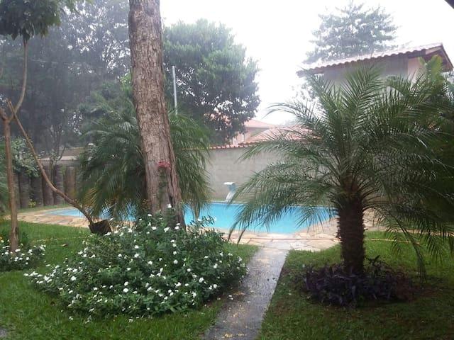 Chalé com piscina, Serra do Cipó.