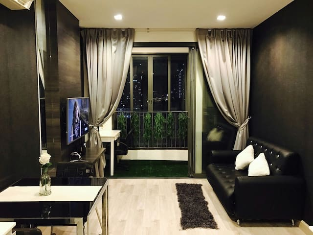 80 meter walk to MRT station - Banguecoque - Apartamento