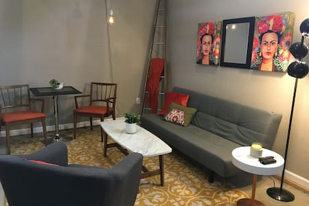 Modern and charming loft space- Old Town Lafayette - Lafayette - Loft