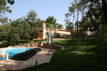 Provencal Country House for 2-8 persons - Correns