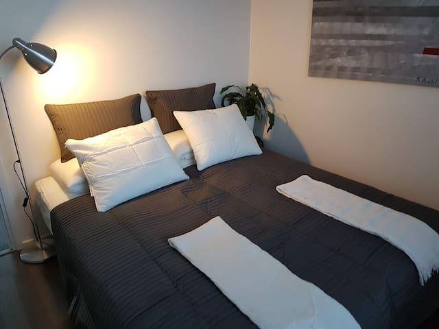 New Scandinavian B apartment (2BR +sauna +terrace)