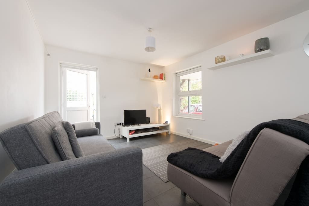 A Bright and Spacious Living Room really sets the scene for the rest of the flat
