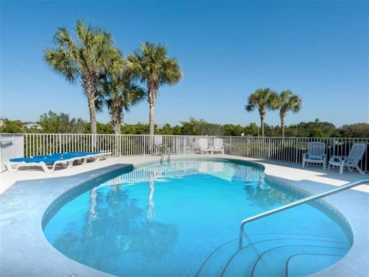 Porches with Gulf Views! Beach*! Community Pool! Walking Distance to Beach - Casa al Tramonto on 30A