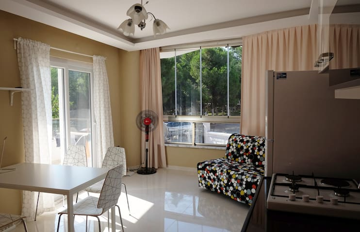 New apartment, terrace, park, great location - Didim - Byt