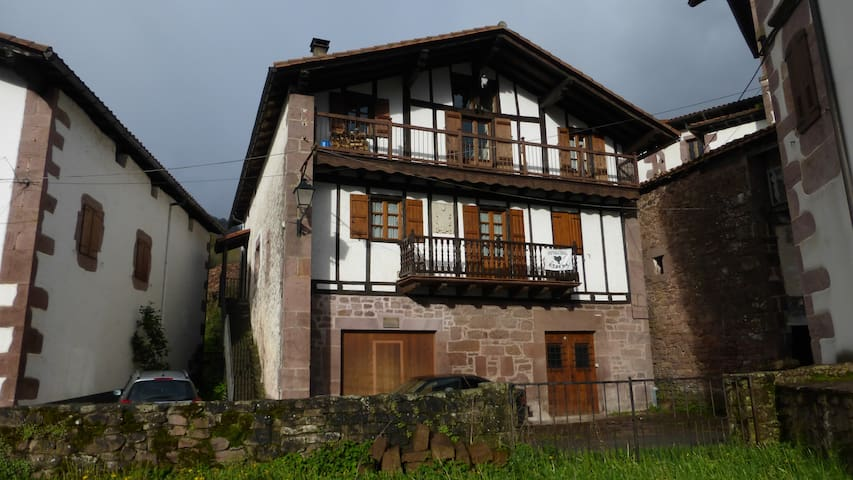 quiet and spacious apartment in the basque pyrenee
