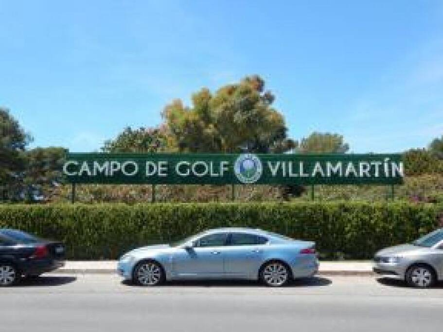 Villamartín Golf course.