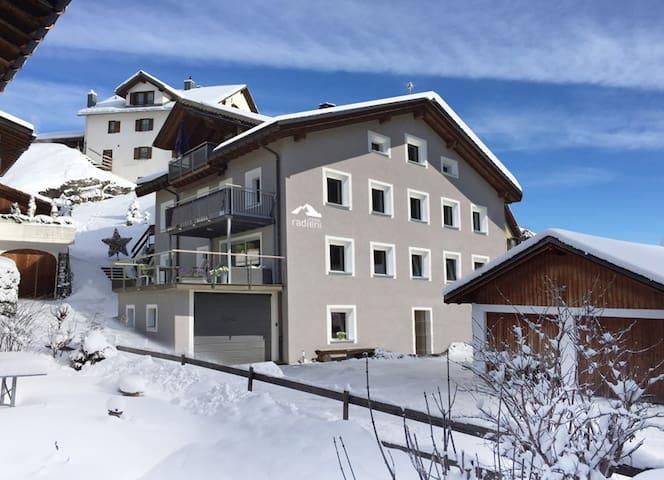 Casa Radieni in Flond GR, Nähe Flims/Laax