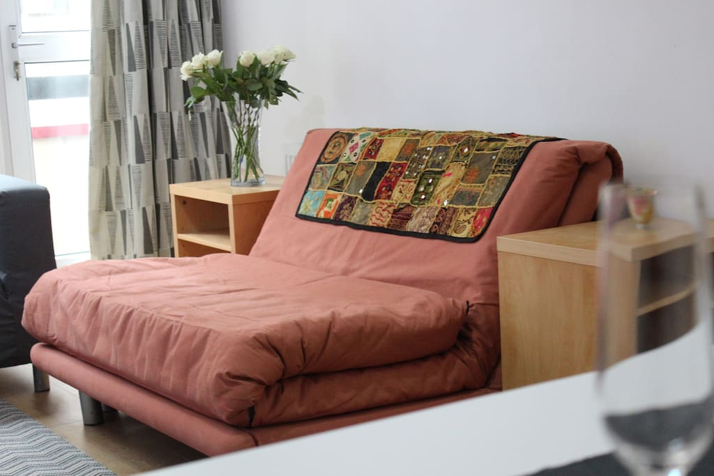 Sofa-bed as sofa