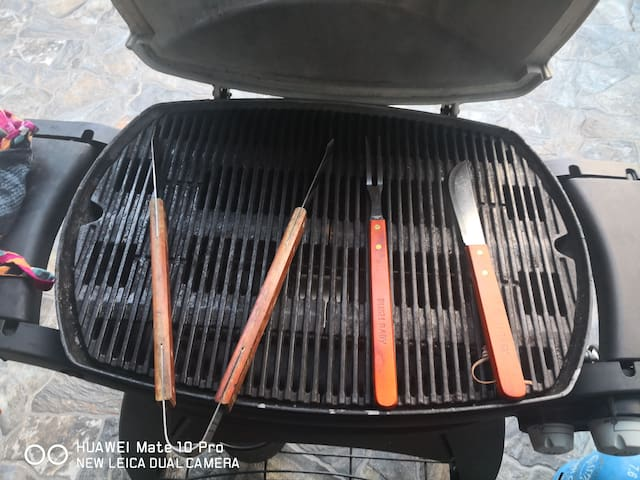 BBQ PREPARATIONS FOR OUR VALUABLE GUEST
