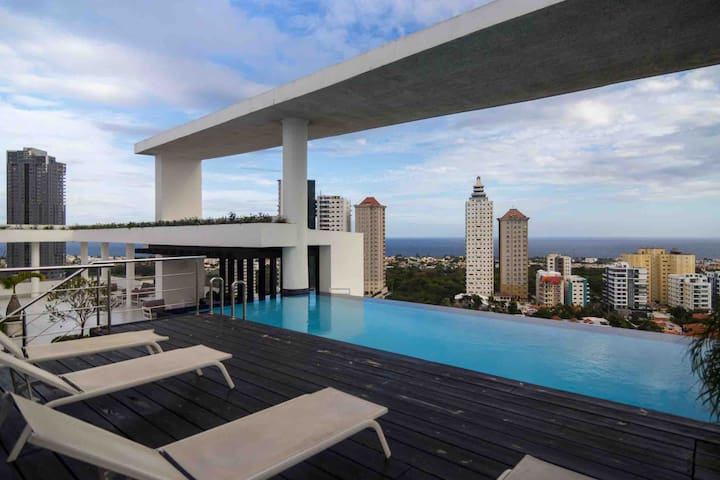 Luxurious 9th Floor W/ Ocean Views ★LosCacicazgos