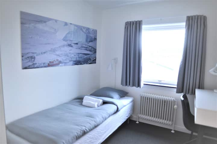 Nuuk City Hostel, Private Single Room