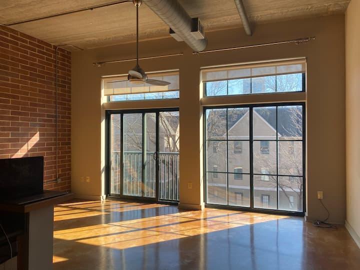 Modern Industrial Loft | Uptown Charlotte