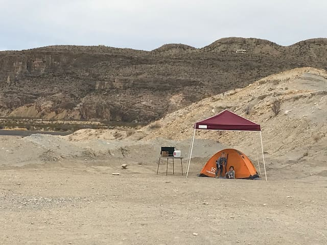 The Lost Gringo-Ghostown-Tent Site