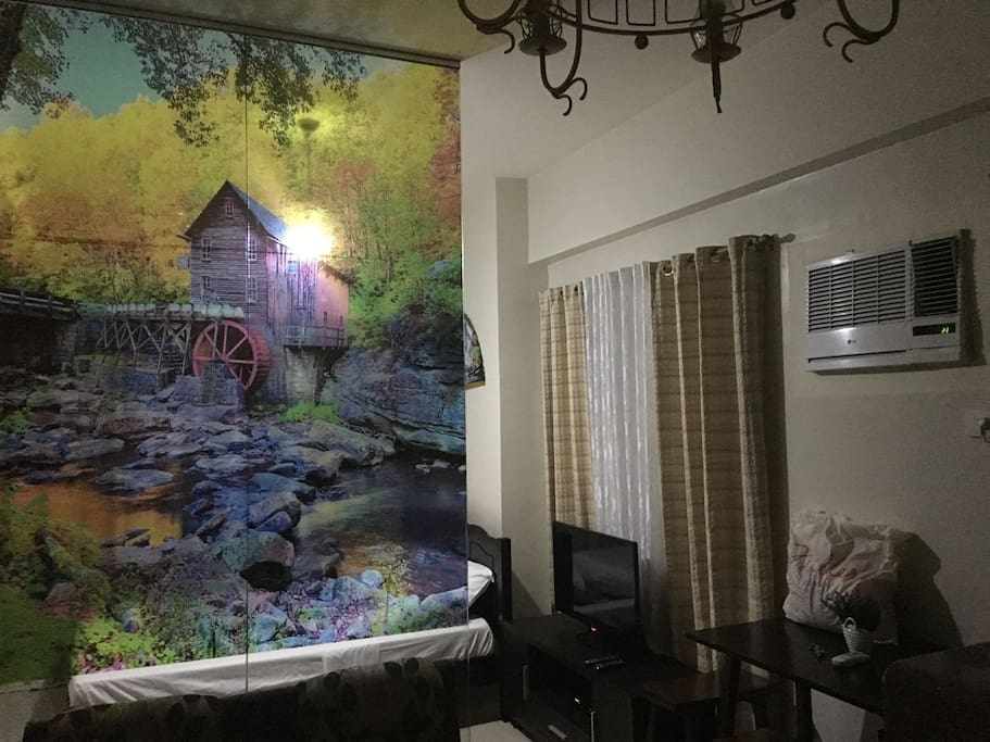 Fully furnished unit with Balcony