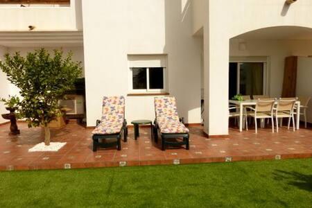 Apartam. con increíble terraza en Playazo de Vera - Vera - Apartment