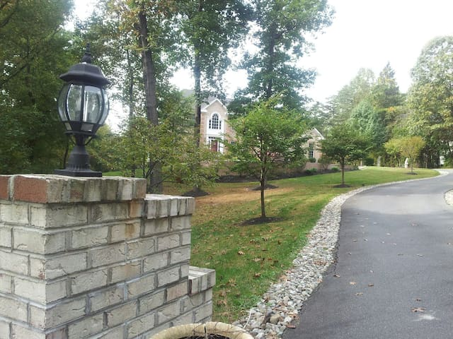 Have your event in a Prestigious  7500sf+ Mansion - Brookeville - Casa