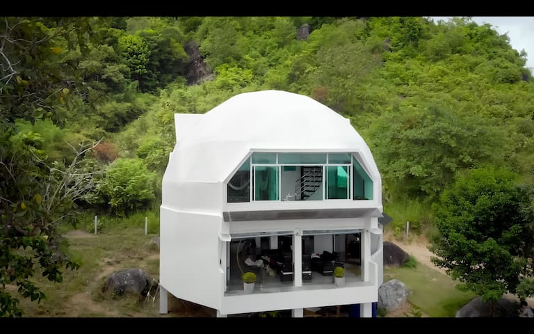 Villa EMG-Dome Phangan, biggest dome house in Asia