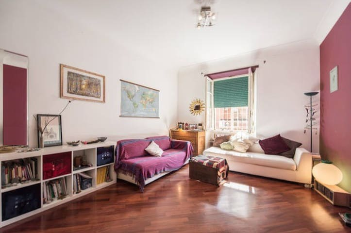 Huge space with 2Sofabeds close to center Roma