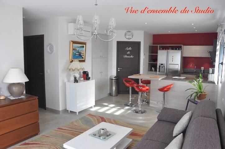 Studio indépendant proche des plus belles plages - Porto-Vecchio - Apartament