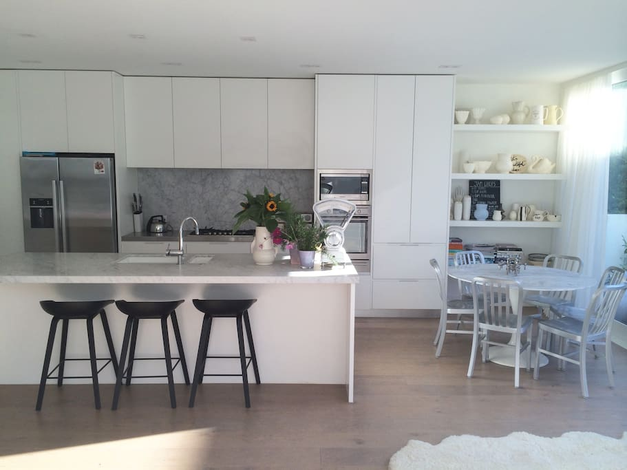 My kitchen/family area