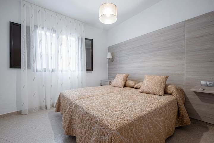 Apartamento de 1 dormitorio (2 adultos y 2 niños)