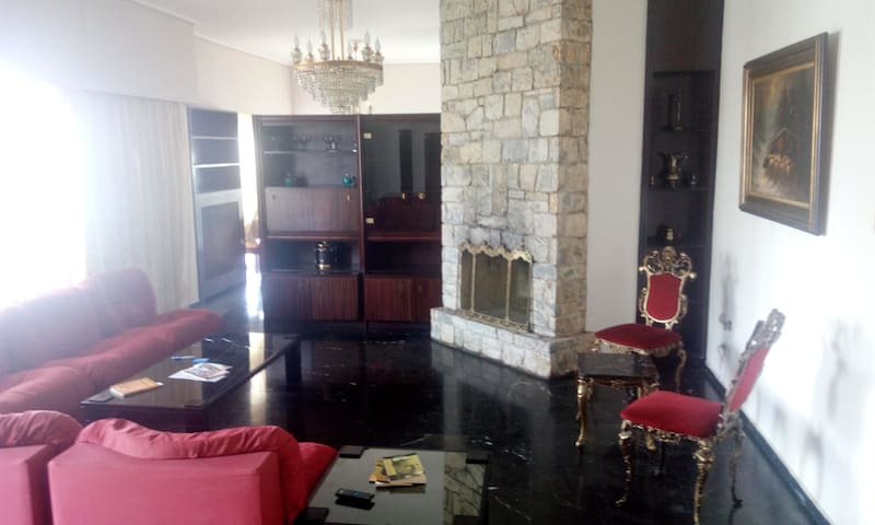 Clean and safetly flat and Good location - Athina - Apartament