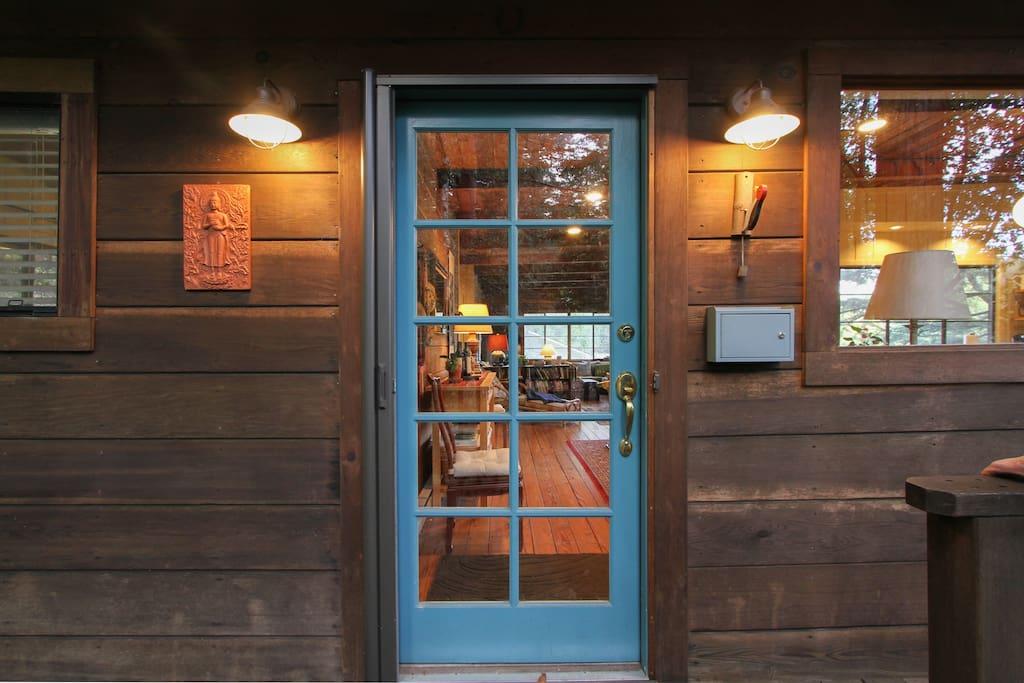 Entry door.