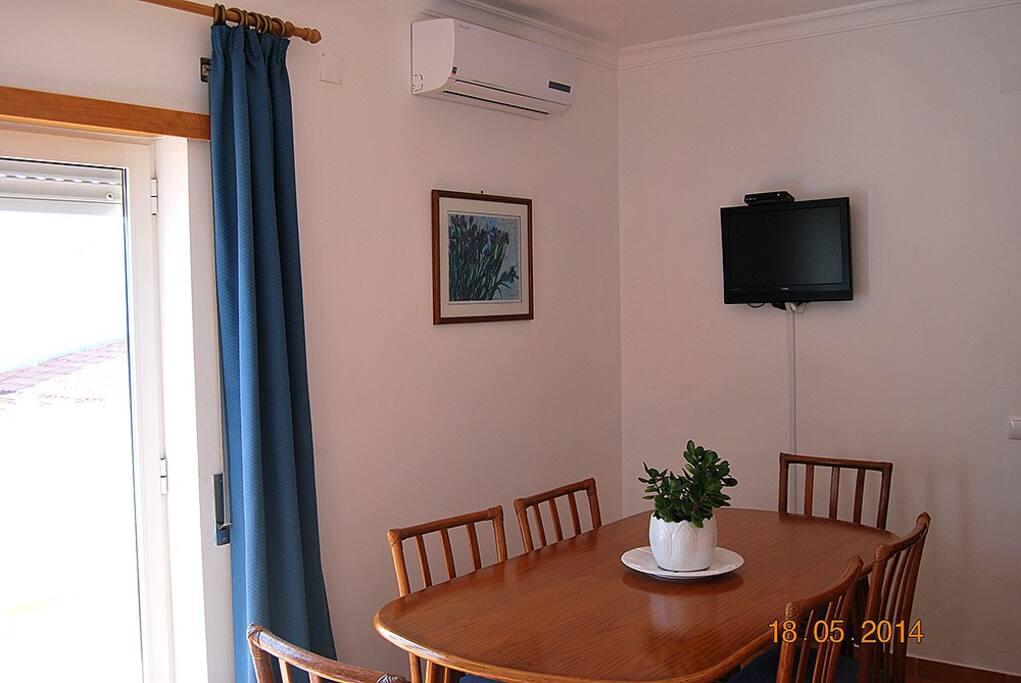 Sala de Jantar e de Estar