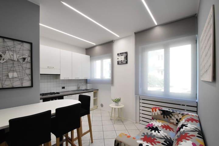 Grey flat in Trento - moderno appartamento