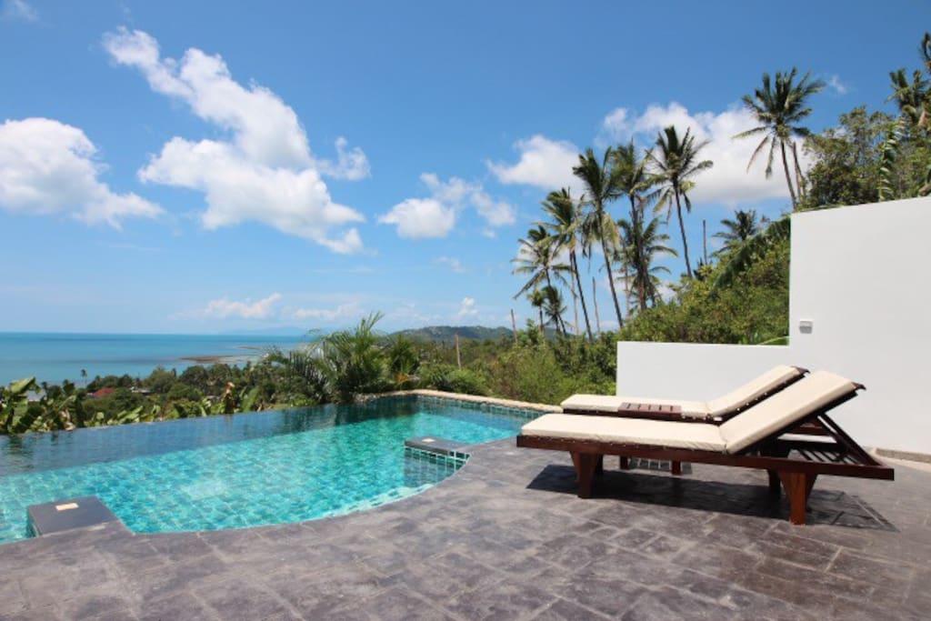 2 pi ces piscine privative appartements avec for Piscine privative