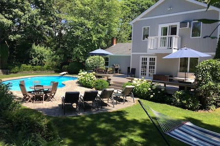 Southampton Sanctuary with Pool, Perfect Location!