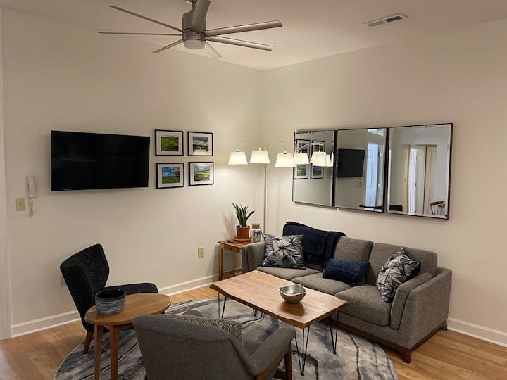 Newly renovated 2BR downtown apartment