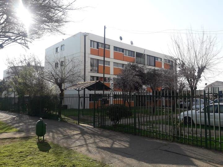 Gran Departamento AMOBLADO, Ñuñoa, metro Grecia