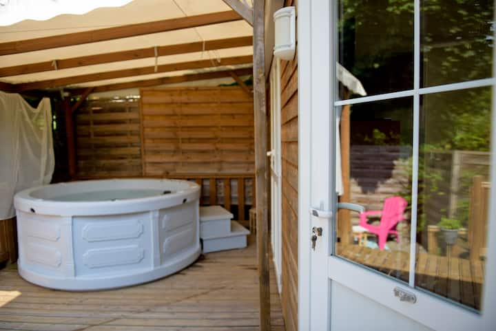 Chalet-Family-Private Bathroom-Countryside view