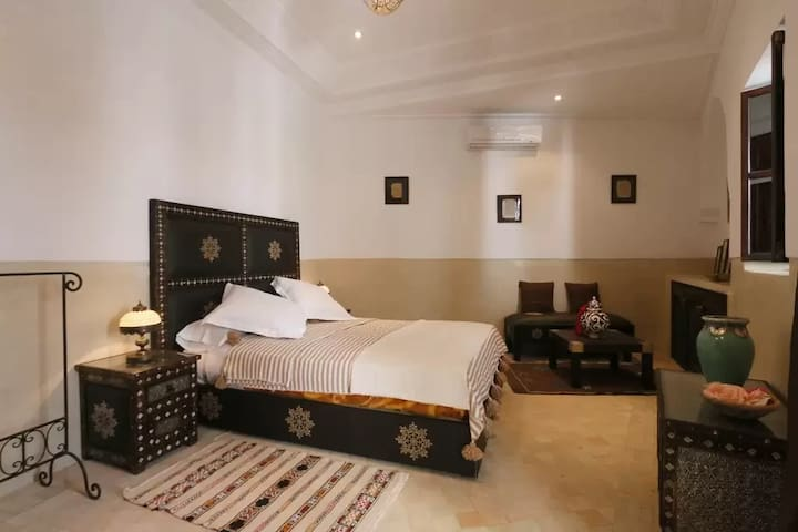 Riad marrakech, Chambre A-David Neel
