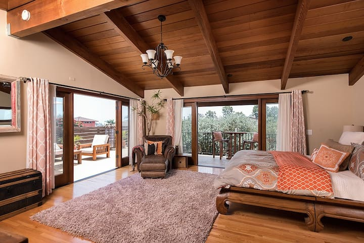 Inspired Zen Like Luxury Home in Point Loma - San Diego - Huis