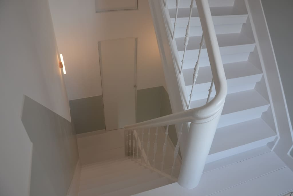 Storage and stairwell